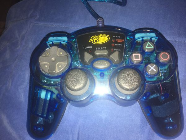 mad catz controller ps2 blue for Sale in Los Angeles, CA - OfferUp