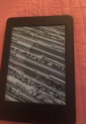 "Amazon Kindle E-reader - Black, 6"" Glare-Free Touchscreen Display, Wi-Fi, Built-In Audib for Sale in Sudley Springs, VA"