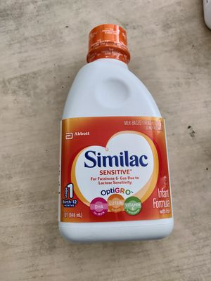 Similac sensitive ready to feed 1 quart bottles for Sale in Arlington, VA