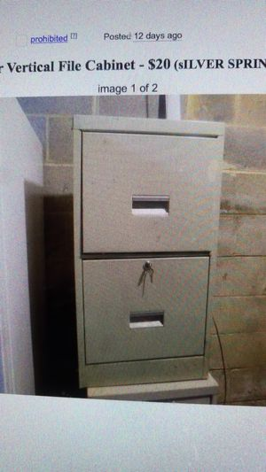 File cabinet for Sale in Silver Spring, MD