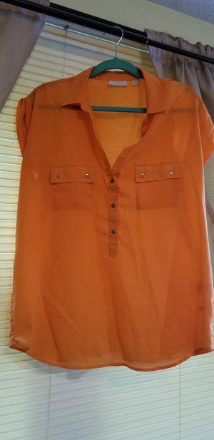 Women' s Orange Blouse for Sale in Manassas, VA