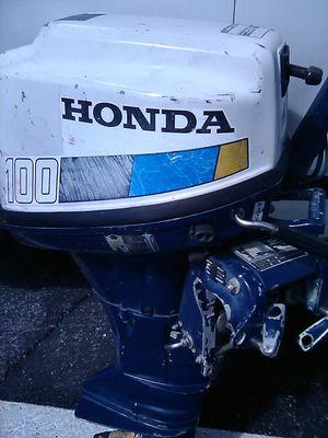 Photo 85 Honda 10 hp 4 stroke outboard boat motor
