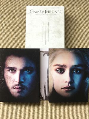 GAME OF THRONES 👑 SESON # 3 Complete 3 rd season 5 DVD disc 🎥📀📀📀📀💿 Excellent MOVIE ! 🍿 for Sale in Alexandria, VA