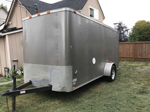 2008 Decatur Cargo Trailer Camper Generator For Sale In Everett