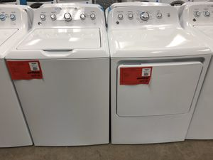 Photo New Discounted GE Washer Dryer Set 1yr Manufacturers Warranty