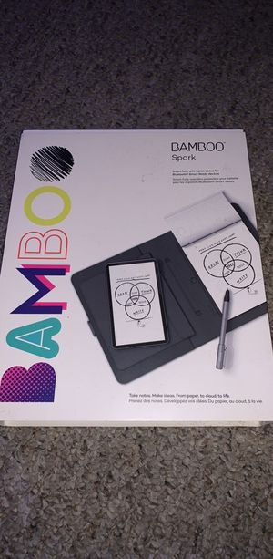 Wacom bamboo spark sketchbook tablet for Sale in Orlando, FL