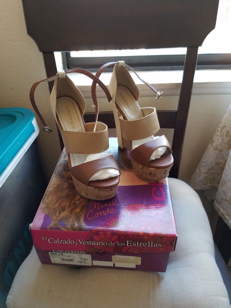 Zapato Cklass nuevo