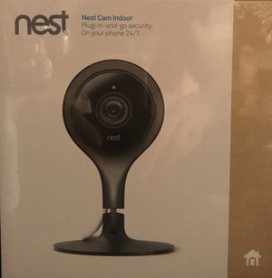Brand new Nest indoor security camera still in the box for Sale in Rockville, MD