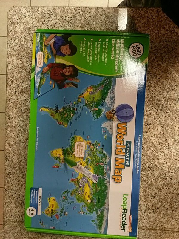 Leapfrog Interactive World Map.Leapfrog Interactive World Map For Sale In Fontana Ca Offerup