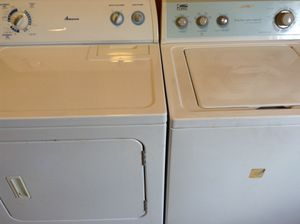 Photo Whirlpool Washer & Electric Dryer
