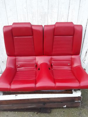 Photo Mustang Rear Seats 05-09