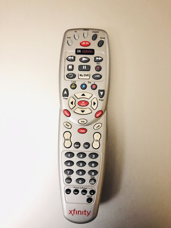 Universal Comcast Xfinity Remote for Sale in Redmond, WA - OfferUp