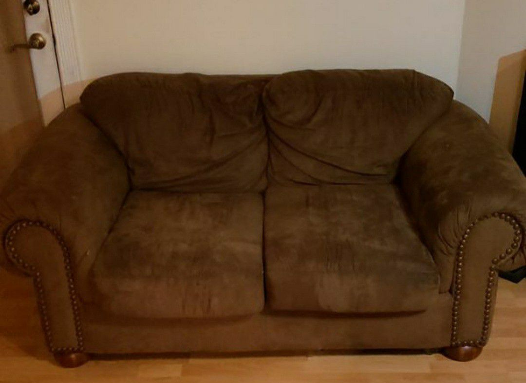 Man Cave/Game Room Recliners With Love Seat BUNDLE