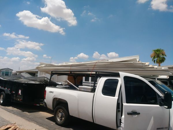 Storm Damage Awning Skirting Mobile Home Repair For Sale