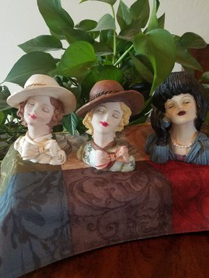 3 Cameo Girls Look Alike Vase Heads For Sale In Show Low Az Offerup