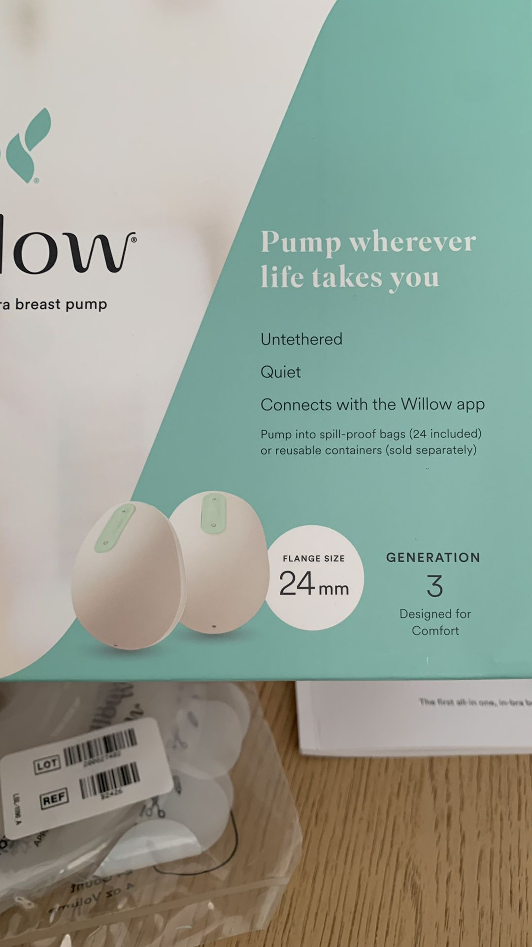 Willow Pump x2, 24mm Flanges. Used Only Once!
