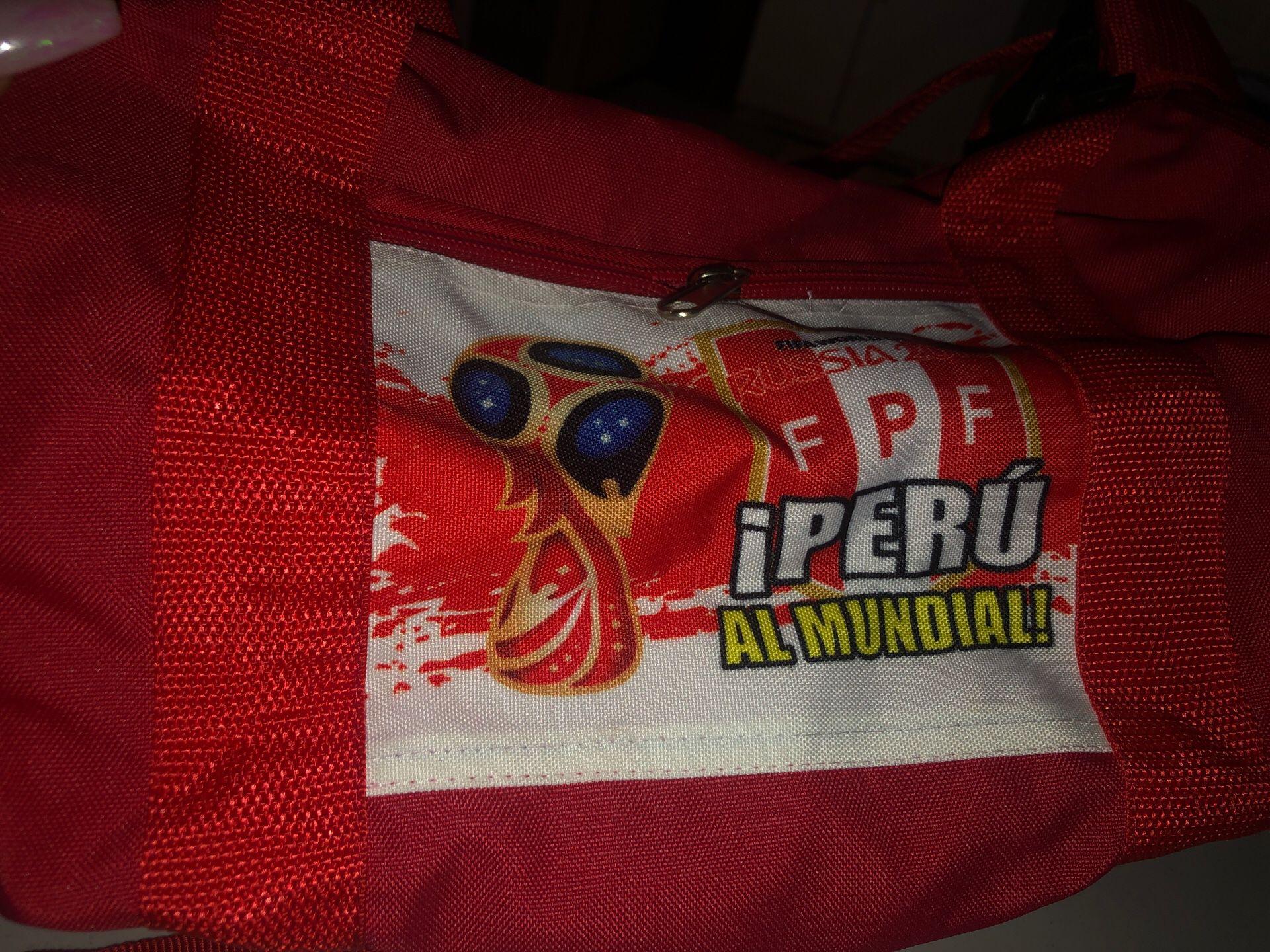 Peruvian Duffel bag
