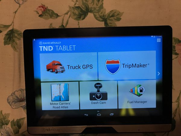 Rand Mcnally Gps >> Read Post Rand Mcnally Gps Tnd Table Tndt80 For Sale In Providence