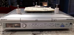 Sony under cabinet clock radio with weather and CD player for Sale in Apex, NC