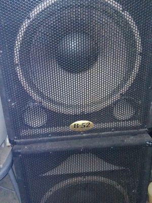 """2 speakers b52 15"""" for Sale in Los Angeles, CA"""