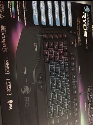 Brand New Sealed Roccat Ryos Keyboard for Sale in Manassas, VA