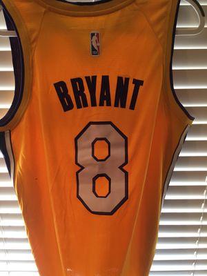 45a253baa84 Los Angeles Lakers Kobe Bryant Jersey Yellow Throwback #8 Black Mamba Limited  Edition NBA Basketball