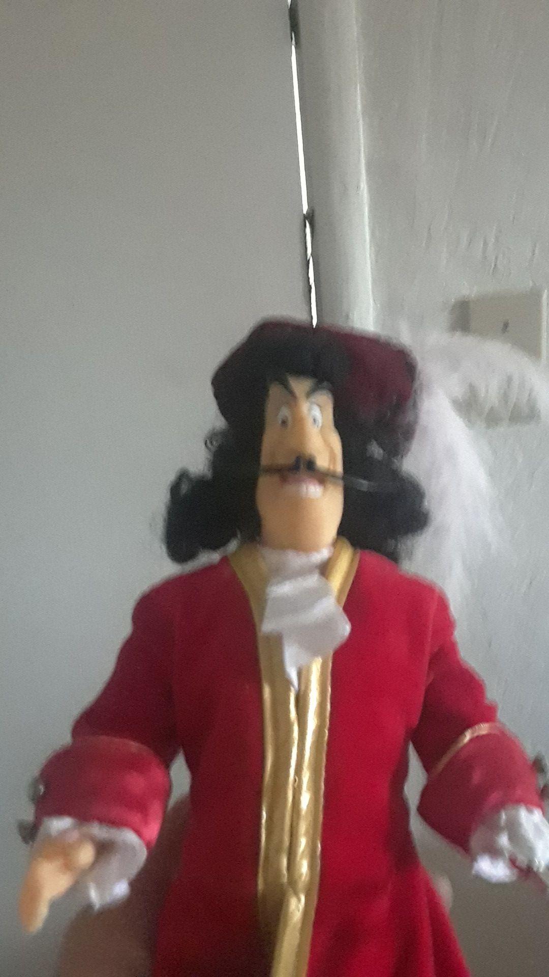 Disney Captain Hook doll
