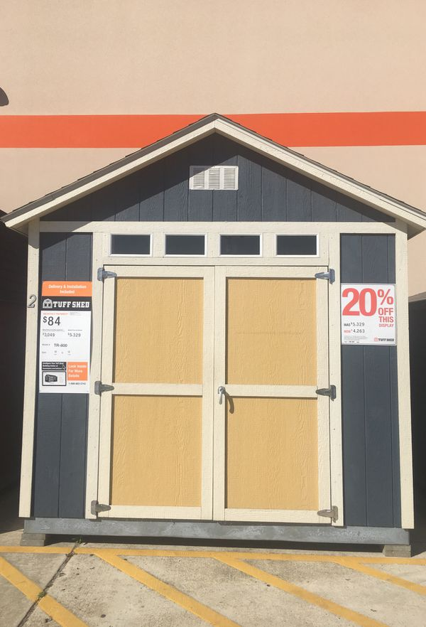 Tuff Shed TR800 10X12 at Home Depot in LaPlace for Sale in LaPlace, LA -  OfferUp