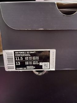 Nike Craft Air Force Ones $125 FIRM…….SIZE 11.5 Thumbnail