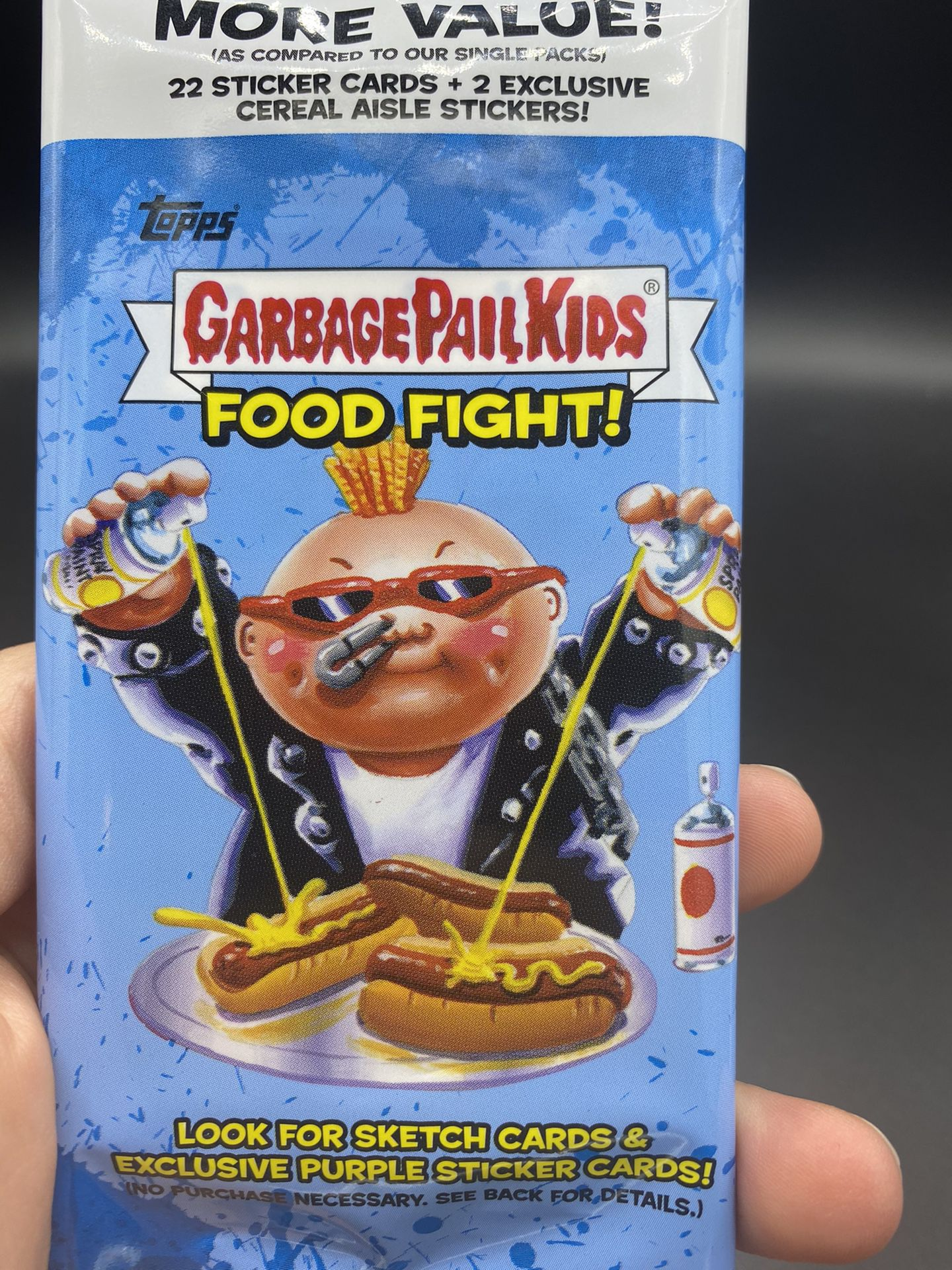 2021 Topps Garbage Pail Kids Food Fight! 22 Card Pack Exclusive Pack