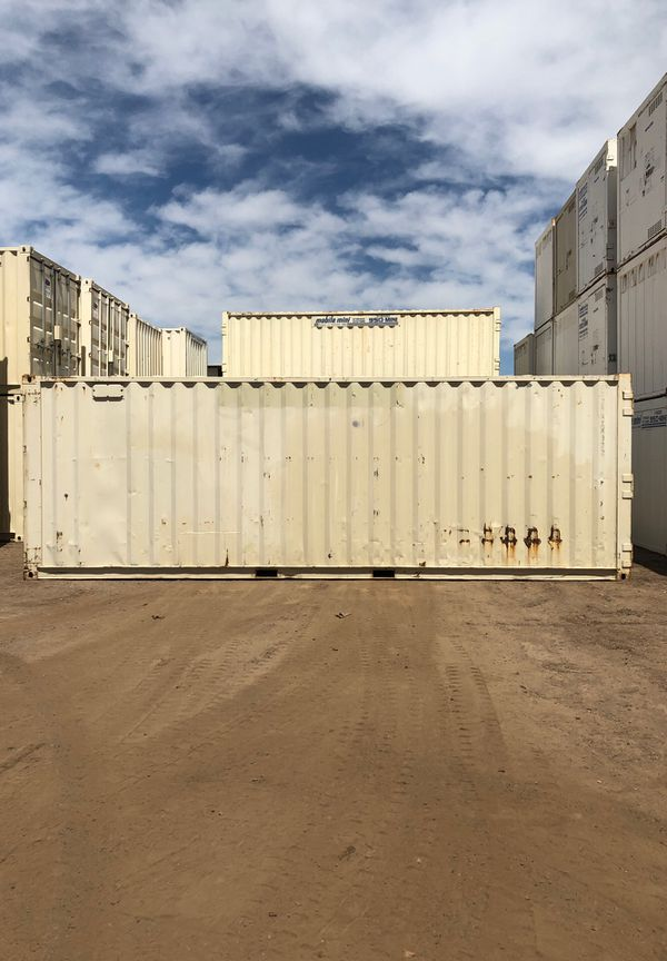 LOCAL 8x25 double end door shipping container connex storage A Grade cargo  worthy wind and water tight for Sale in Phoenix, AZ - OfferUp