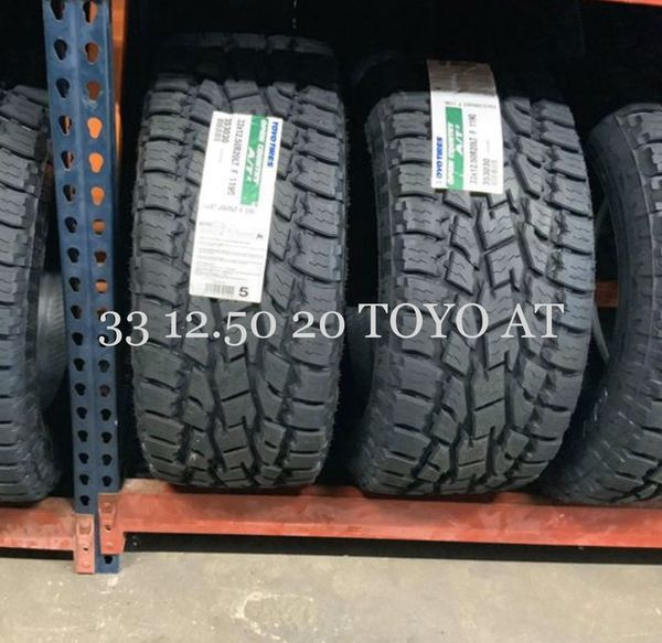33 12.50 20 TOYO AT $1240 For Sale In Pearland, TX