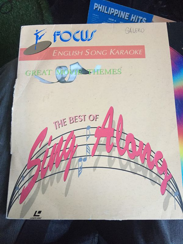 English Song Karaoke - The Best of Sing Along -LaserDisc- for Sale in  Winchester, CA - OfferUp