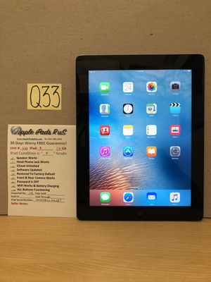 Q33 - iPad 3 16GB for Sale in Los Angeles, CA