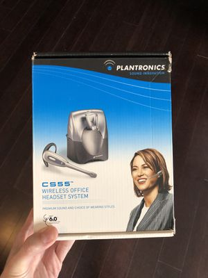 Plantronics CS55 Headset and Phone Lifter for Sale in San Diego, CA