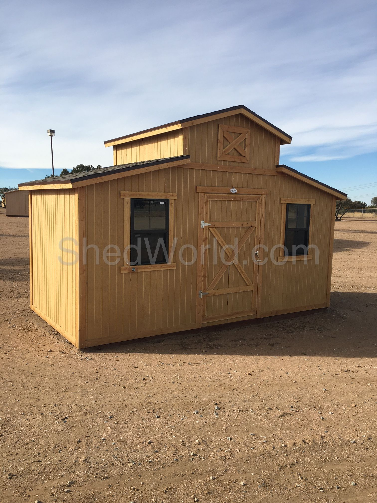 8x16 Livery Style Storage Shed