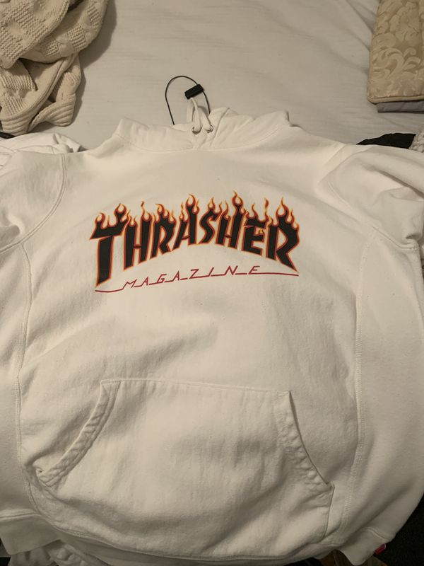 75f3b70bfcf Supreme x Thrasher Flame hoodie for Sale in Colma, CA - OfferUp