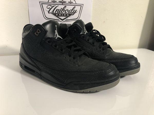 """a33e62b55 Air Jordan 3 Retro """"Black Flip"""" sku 315767 001 for Sale in Miami"""