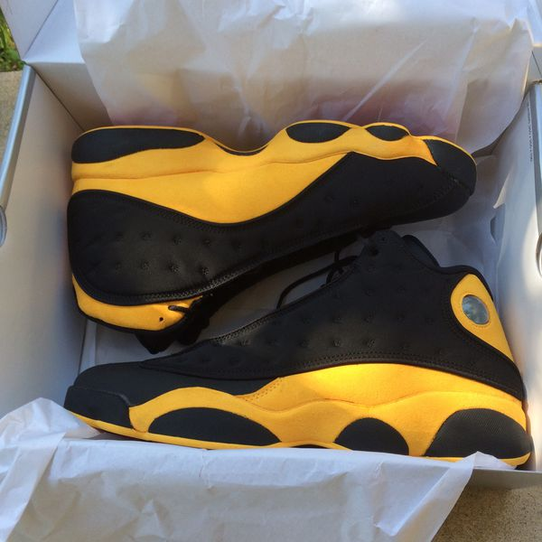 reputable site 0a037 01059 Air Jordan 13 Retro Melo Black/Yellow 414571 035 B Grade Size 12 for Sale  in San Antonio, TX - OfferUp