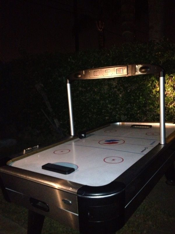 Sportcraft Turbo Air Hockey Table With Electric Score Board For Sale - Sportcraft turbo air hockey table