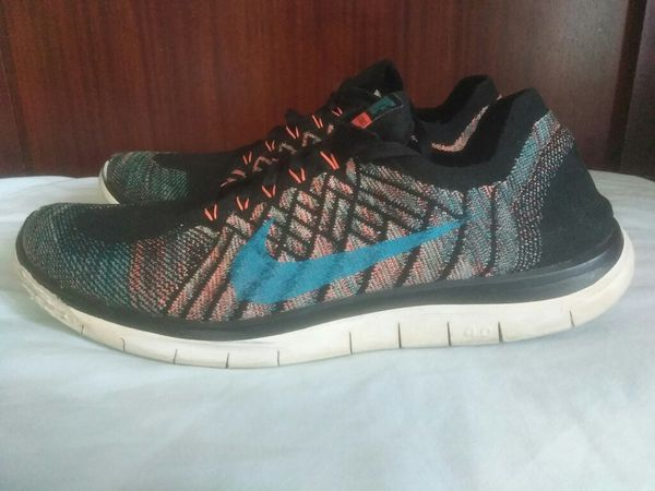 new concept a1a49 05fff Nike Free Flyknit 4.0 Pure Platinum Silver Gray Men Sz 13 717075-009
