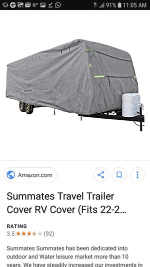 Motorhome cover 24 ft for Sale in Pembroke Pines, FL