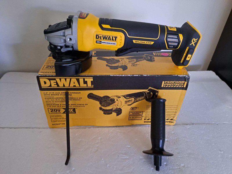 Dewalt Xr 20 Volt Grinder Tool Only New In Box