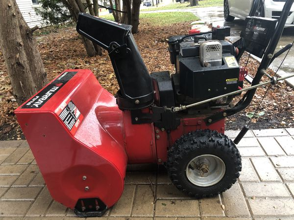 24 Inch Murray 2 Stage Snow Blower For Sale In Western
