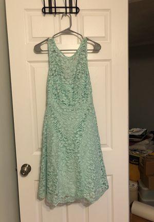 David's Bridal Short Sleeveless Illusion Lace Bridesmaids Dress for Sale in Boston, MA