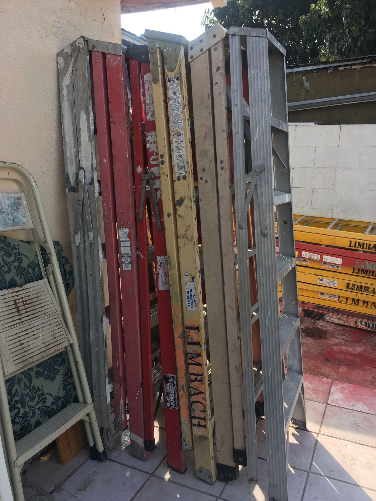 6ft Fiber Glass Ladders