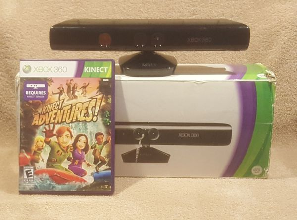 SUPER FUN XBOX 360 KINECT SENSOR WITH GAME & BOX for Sale in Tucson, AZ -  OfferUp