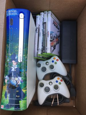 XBOX 360 Complete Bundle w/ 2 Remotes & 4 Games...L👀K! for Sale in Grand Prairie, TX