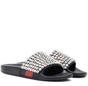 e43ee951a51a Ladies sparkle Gucci slides for Sale in Fort Drum