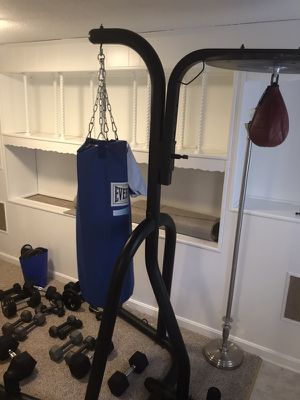 Everlast heavy bag and speed bag combo for Sale in Silver Spring, MD